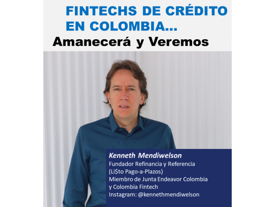 Kenneth Mendiwelson Fundador Refinancia y Referencia (Li$to Pago-a-Plazos)